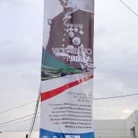 Gobierno panista capitalino honra memoria de Porfirio Díaz y Victoriano Huerta