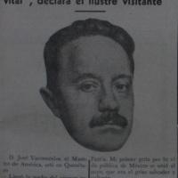 Cuando la Universidad cumplió el primer año. José Vasconcelos en Querétaro