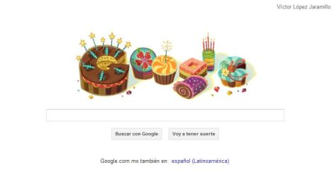 El robot de Google se acordó de mi cumpleaños