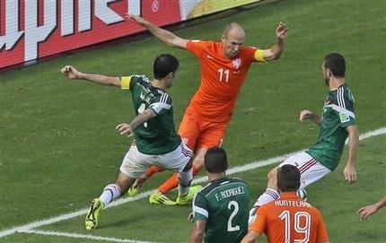 Robben, pata de palo
