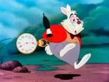 Correr por la vida como el conejo de Alicia...