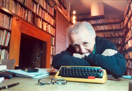 Un periodista hace preguntas que no tienen respuesta. Los periodistas no tienen soluciones, afirmó Vicente Leñero. Foto de Joaquín Cato, tomada de Proceso.com