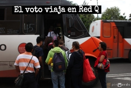 ¿Por quién votarán los que se vieron profundamente afectados esos días de septiembre cuando el sistema de transporte público Red Q colapsó?