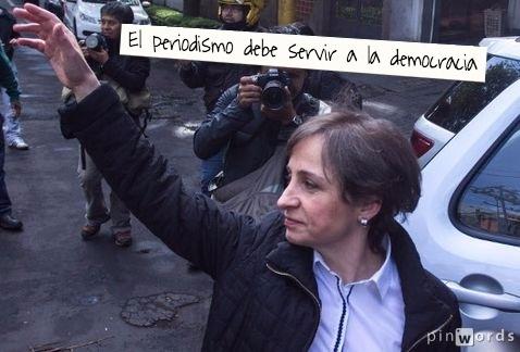 Carmen, periodismo y democracia