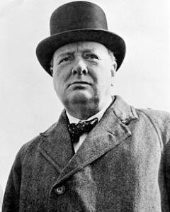Winston Churchill se mantuvo fiel a sus principios