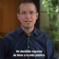 El extraño retorno de Ricardo Anaya